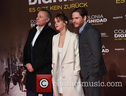 Emma Watson, Michael Nyqvist and Daniel Bruehl 4