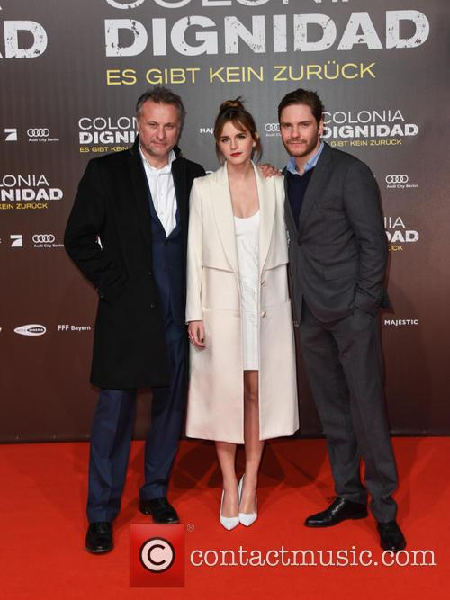 Emma Watson, Michael Nyqvist and Daniel Bruehl