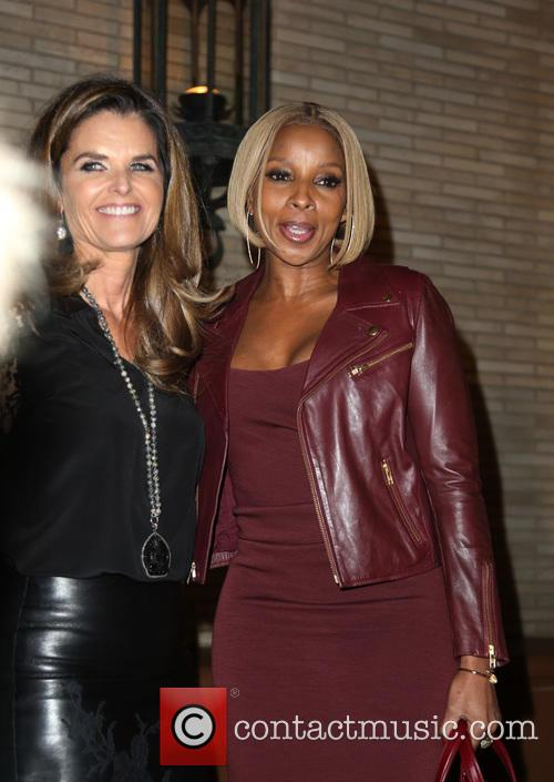 Maria Shriver and Mary J Blige 3