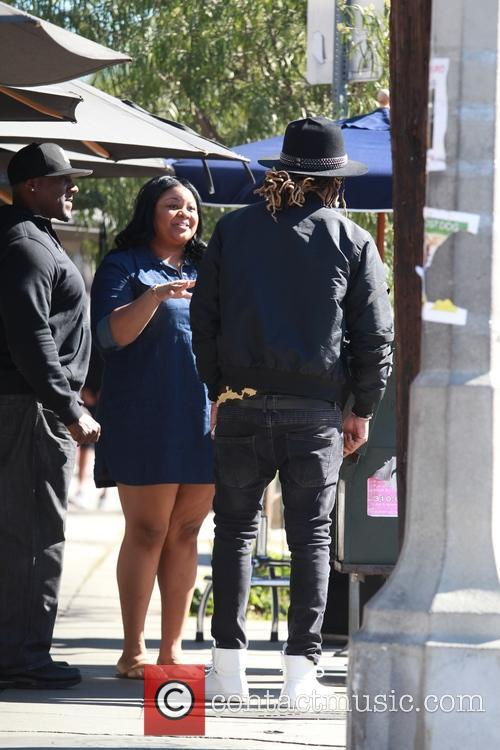 Rapper Future spotted out shopping in Los Angeles