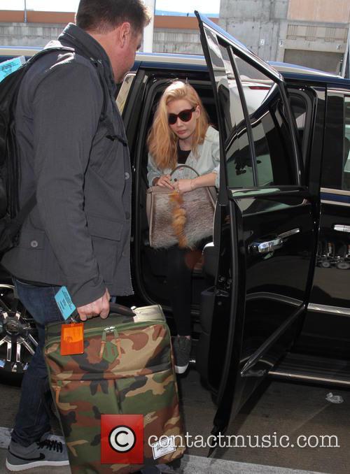 Iggy Azalea arrives at Los Angeles International Airport...