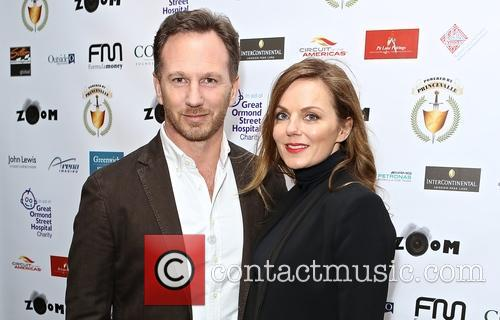 Christian Horner and Geri Halliwell 2