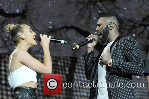 Jason Derulo and Perrie Edwards 2