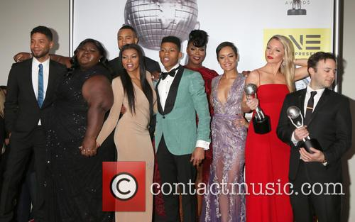 Jussie Smollett, Gabourey Sidibe, Trai Byers, Taraji P. Henson, Bryshere Y. Gray Aka Yazz, Ta'rhonda Jones, Grace Gealey, Kaitlin Doubleday and Danny Strong 1