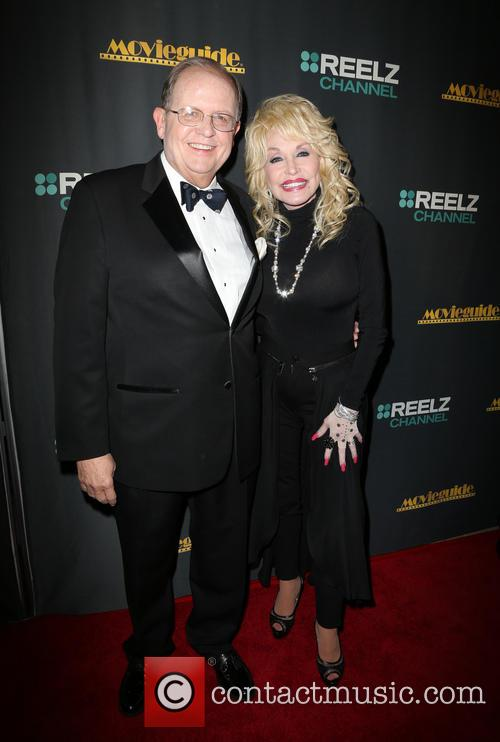 Ted Baehr and Dolly Parton 1