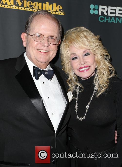 Ted Baehr and Dolly Parton 2