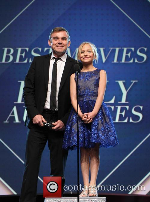 Ricky Schroder and Alyvia Alyn Lind 4