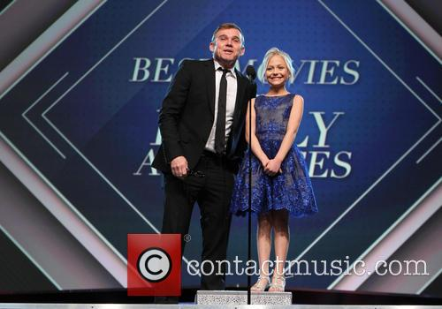 Ricky Schroder and Alyvia Alyn Lind 9