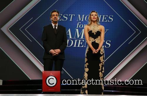 Joe Mantegna and Sadie Robertson 9