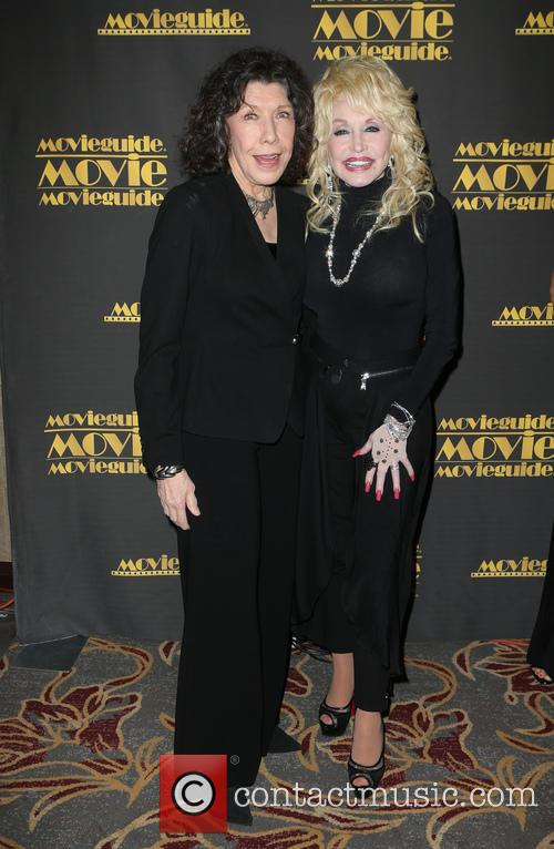 Lily Tomlin and Dolly Parton 8