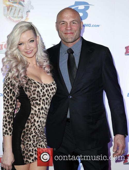 Mindy Robinson and Randy Couture 2