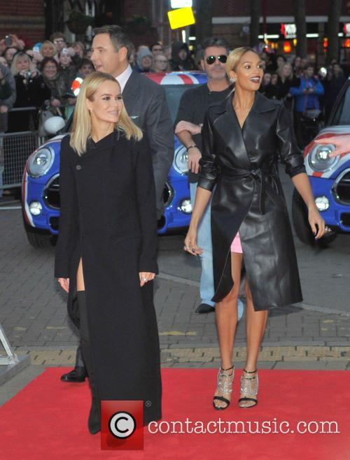 David Walliams, Simon Cowell, Alesha Dixon and Amanda Holden 2