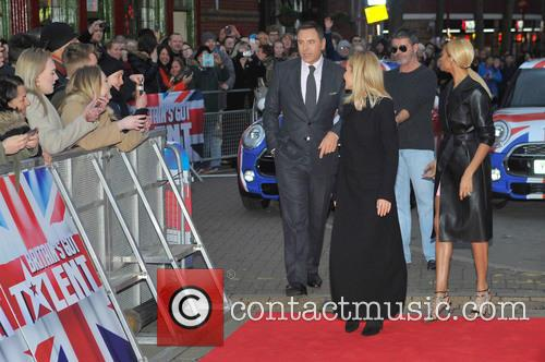 David Walliams, Simon Cowell, Alesha Dixon and Amanda Holden 6