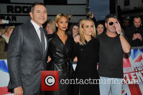 David Walliams, Simon Cowell, Alesha Dixon and Amanda Holden 9