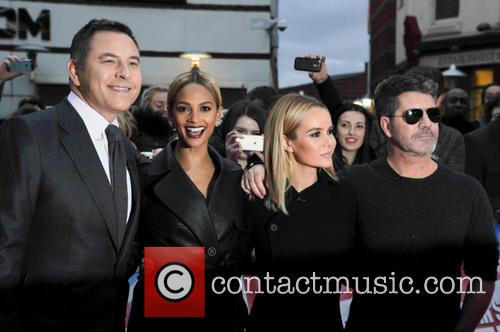 David Walliams, Simon Cowell, Alesha Dixon and Amanda Holden 11