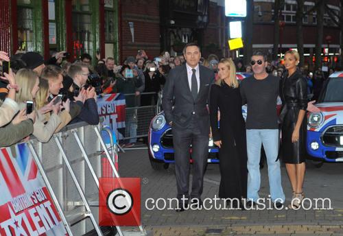Simon Cowell, David Walliams, Amanda Holden and Alesha Dixon 9
