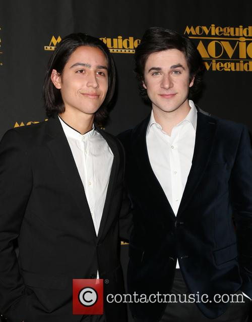 Lorenzo James Henrie and David Henrie 4