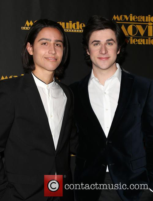 Lorenzo James Henrie and David Henrie 6