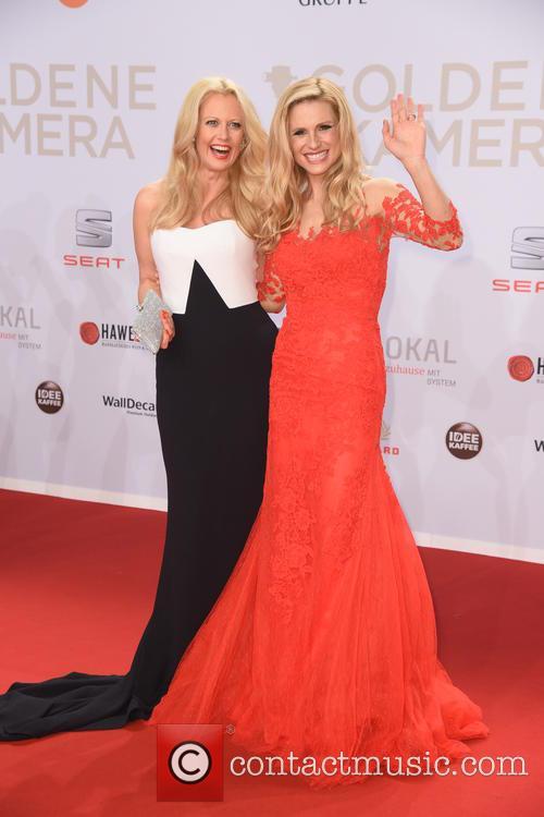 Barbara Schoeneberger and Michelle Hunziker 2