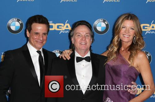 Christian Jules Le Blanc, Thomas Mcdermott and Michelle Stafford 1