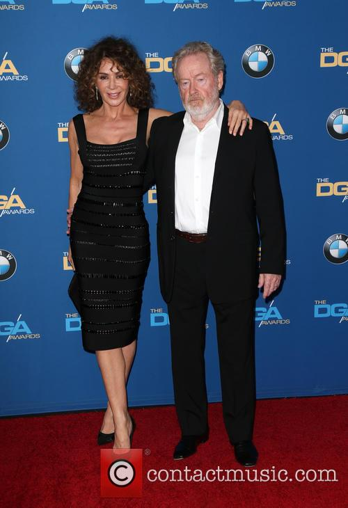 Giannina Facio-scott and Ridley Scott