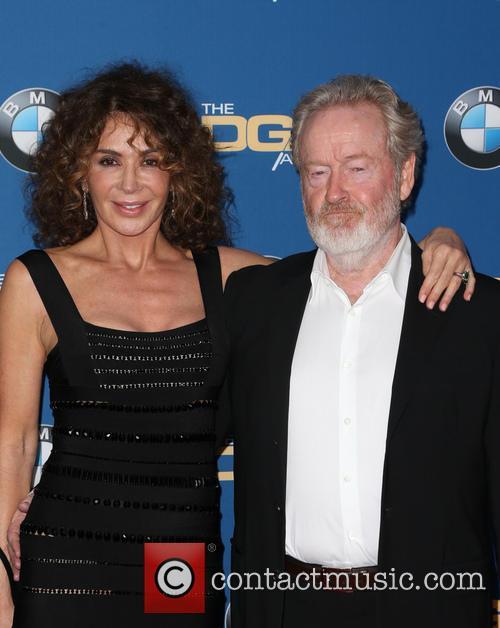 Giannina Facio-scott and Ridley Scott 2