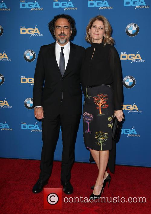 Alejandro Gonzalez Inarritu and Maria Eladia 1