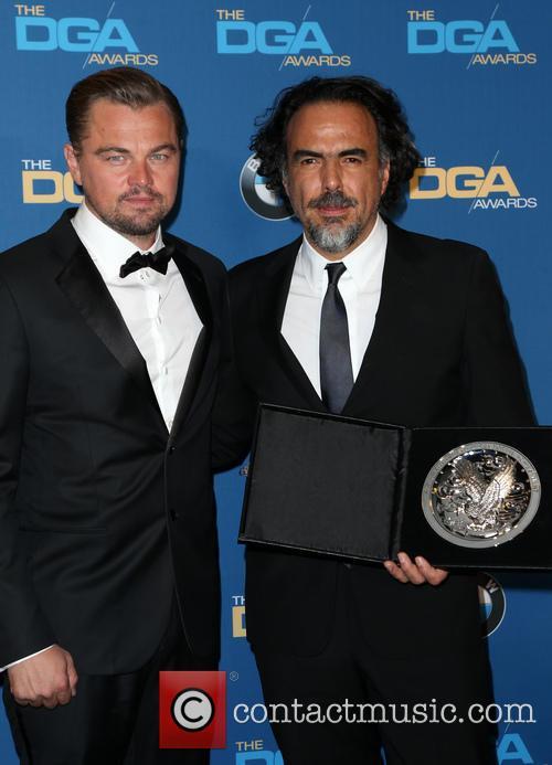 Leonardo Dicaprio and Alejandro González Iñárritu 1