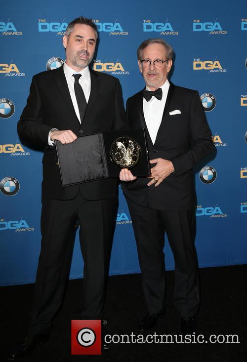 Alex Garland and Steven Spielberg