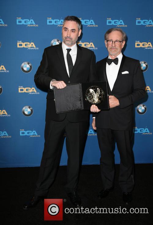 Alex Garland and Steven Spielberg 2