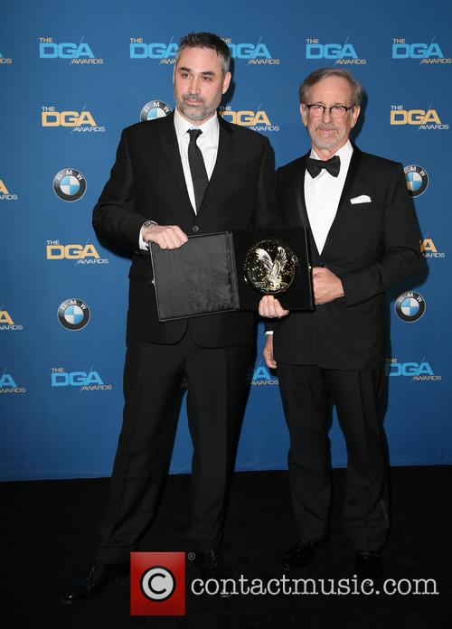 Alex Garland and Steven Spielberg 3