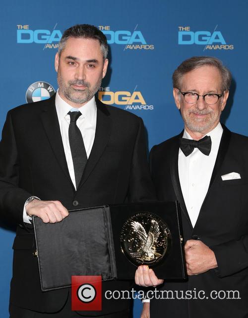 Alex Garland and Steven Spielberg 4