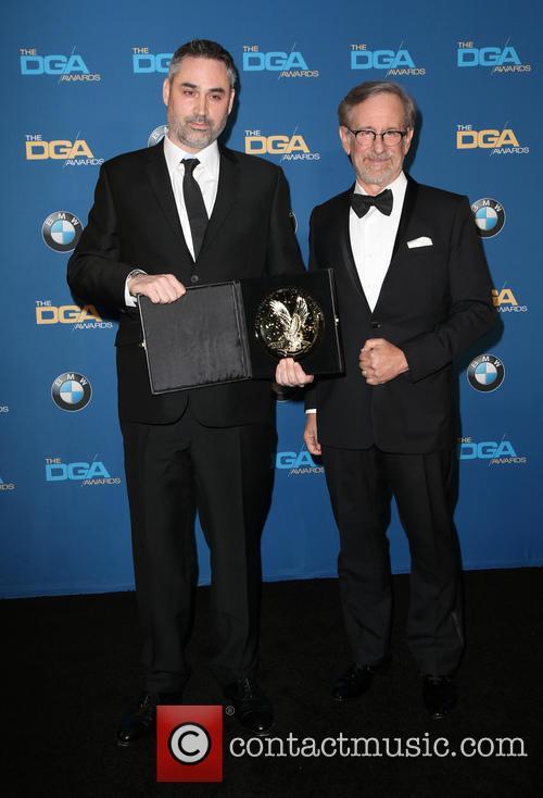 Alex Garland and Steven Spielberg 5