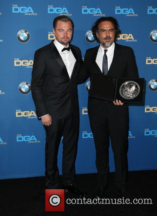 Leonardo Dicaprio and Alejandro González Iñárritu 2