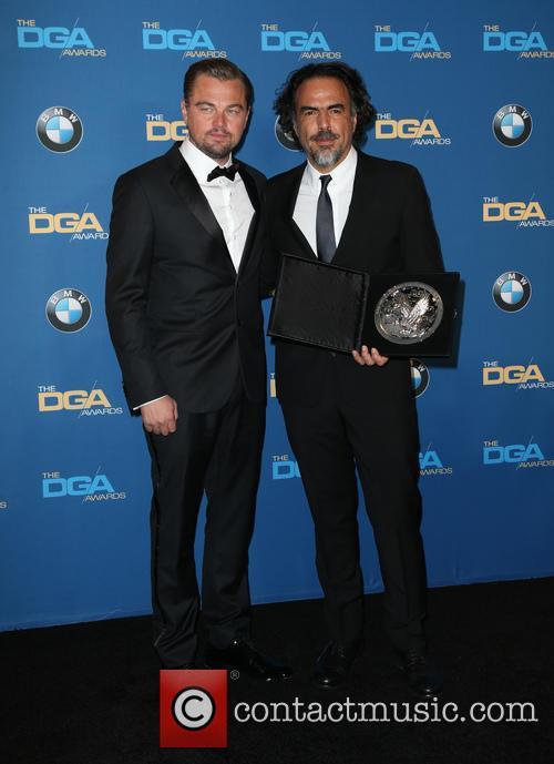 Leonardo Dicaprio and Alejandro González Iñárritu 3