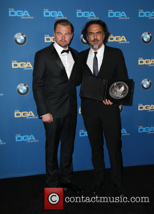 Leonardo Dicaprio and Alejandro González Iñárritu 5