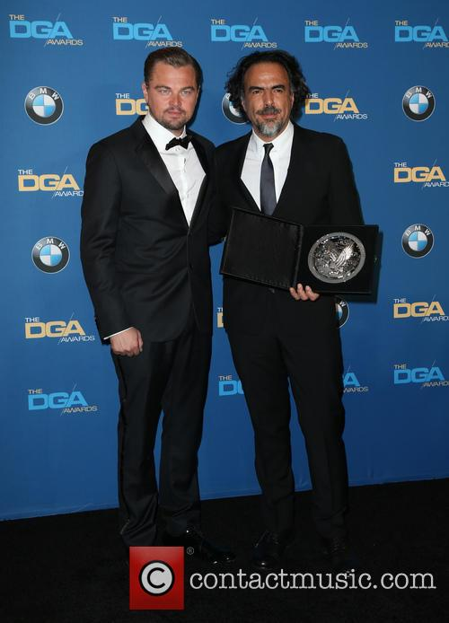 Leonardo Dicaprio and Alejandro González Iñárritu 6
