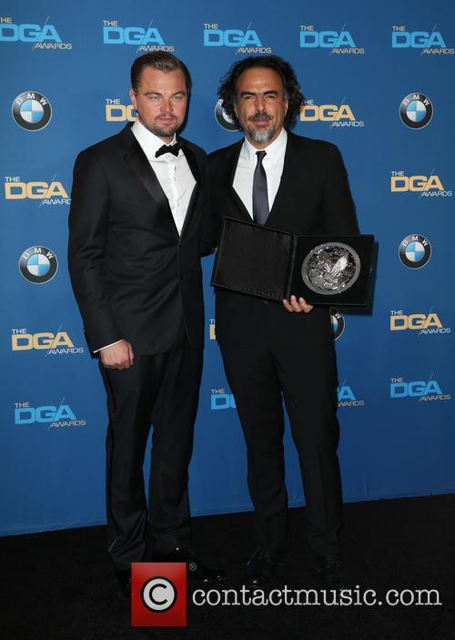 Leonardo Dicaprio and Alejandro González Iñárritu 7
