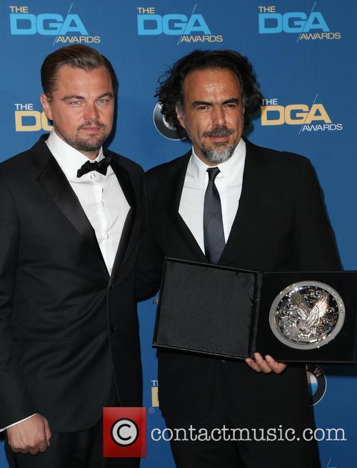 Leonardo Dicaprio and Alejandro González Iñárritu 8