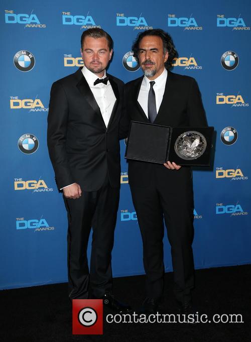Leonardo Dicaprio and Alejandro González Iñárritu 9