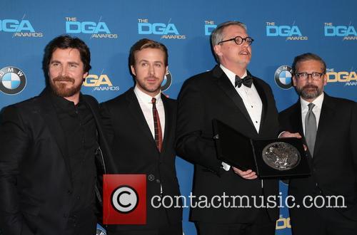 Christian Bale, Ryan Gosling, Adam Mckay and Steve Carrell 6
