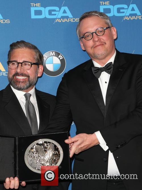 Steve Carrell and Adam Mckay 1