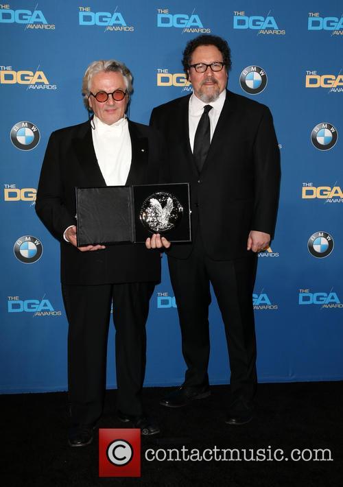 George Miller and Jon Favreau 1