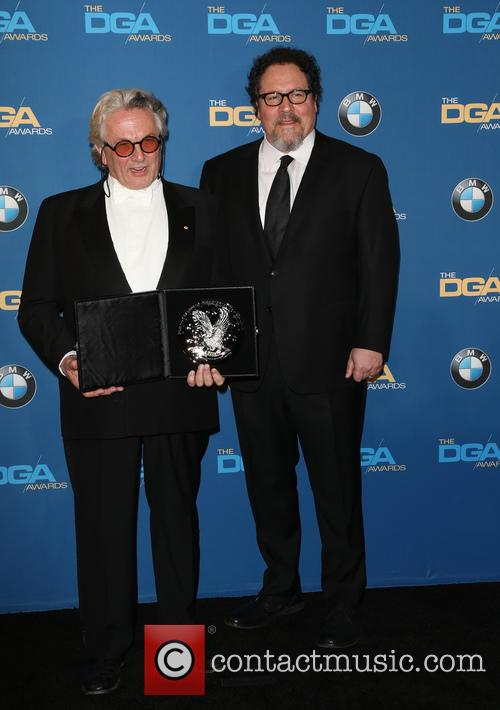 George Miller and Jon Favreau 4
