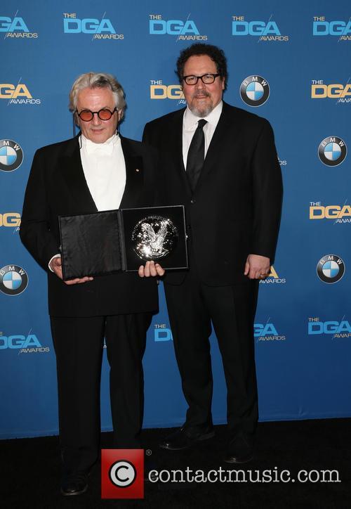 George Miller and Jon Favreau 5
