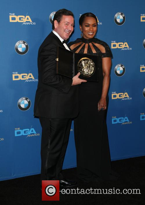 David Nutter and Angela Bassett