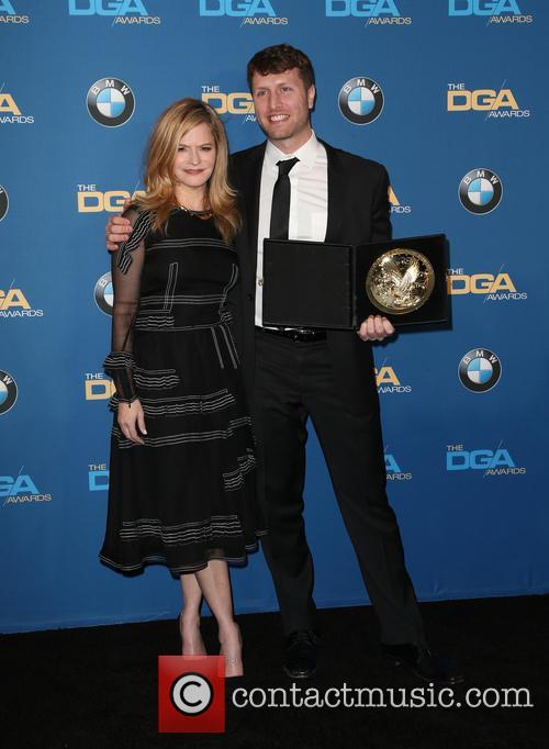 Jennifer Jason Leigh and Matthew Heineman 3