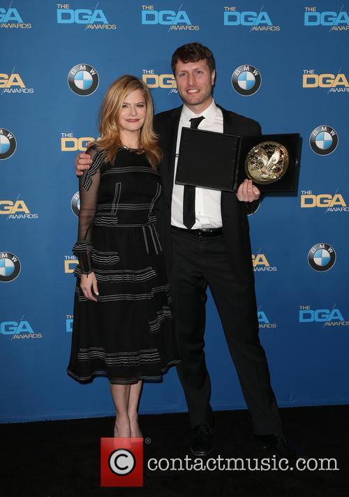 Jennifer Jason Leigh and Matthew Heineman 6