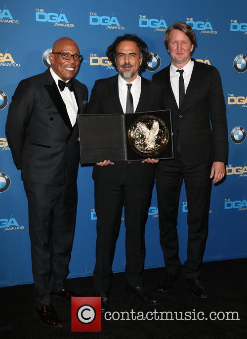 Paris Barclay, Alejandro G. Iñárritu and Tom Hooper 1