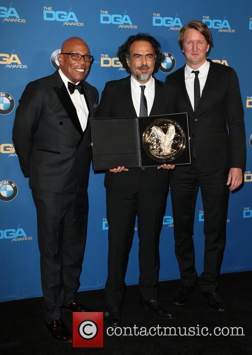 Paris Barclay, Alejandro G. Iñárritu and Tom Hooper 2